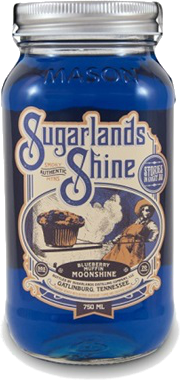 SUGARLANDS BLUEBERRY MUFFIN 750ML Spirits MOONSHINE WHITE WHISKEY