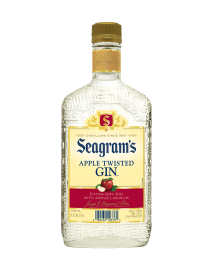 Seagram's Gin USA Twisted Apple 375ml Bottle