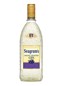 Seagram's Gin USA Twisted Grape 750ml Bottle