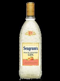 Seagram's Gin USA Twisted Peach 750ml Bottle