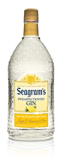 Seagram's Gin USA Twisted Pineapple 1.75L Bottle
