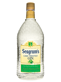 Seagram's Gin Usa Twisted Lime 1.75L Bottle