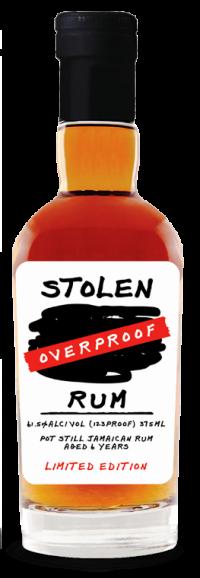 Stolen Overproof Rum 375ml