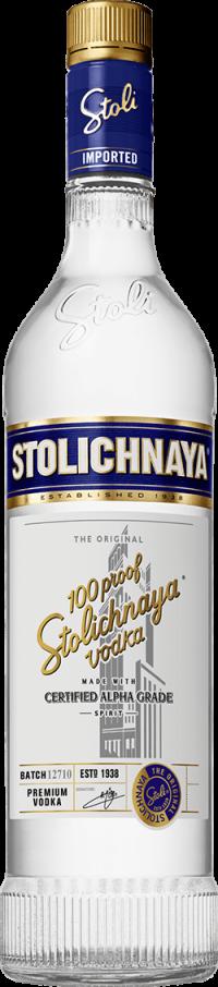Stoli Vodka 100 Prf