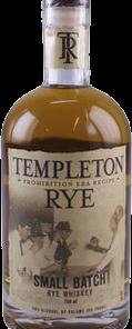 TEMPLETON RYE SM BATCH 750ML Spirits AMERICAN WHISKEY