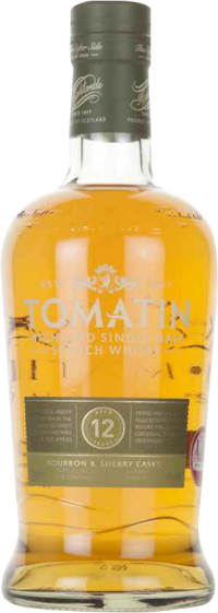 TOMATIN 12YR SCOTCH 750ML_750ML_Spirits_SCOTCH