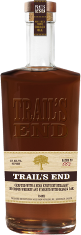 TRAILS END 750ML Spirits BOURBON