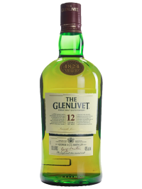 The Glenlivet Single Malt Scotch Whisky Scotland 12 Yo 1.75L Bottle
