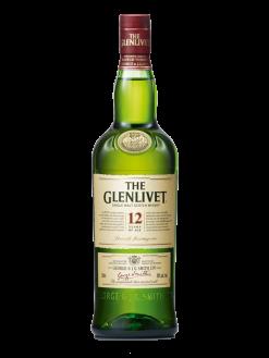The Glenlivet Single Malt Scotch Whisky Scotland 12 Yo 750ml Bottle