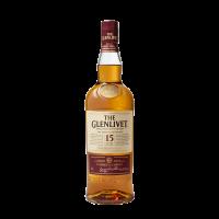 The Glenlivet Single Malt Scotch Whisky Scotland 15 Yo 750ml Bottle