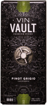 VIN VAULT PINOT GRIGIO 3.0L Wine WHITE WINE