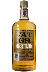 Vat 69 Gold Scotch