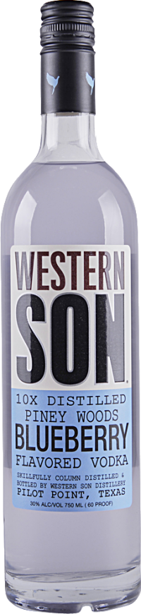 WESTERN SON BLUEBERRY 750ML Spirits VODKA
