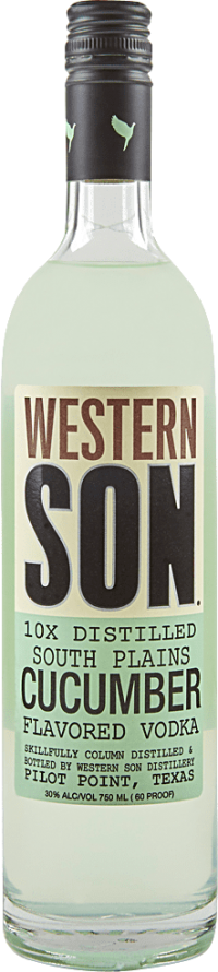 WESTERN SON CUCUMBER 750ML Spirits VODKA