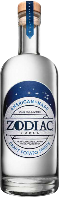 ZODIAC POTATO VODKA 750ML Spirits VODKA