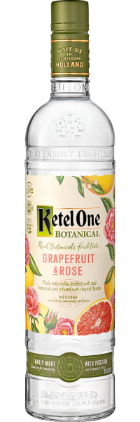 Ketel One Botanical Grapefruit Rose 750ml