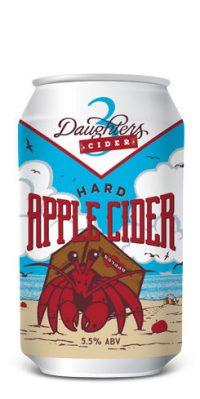 3 Daughters Hard Apple Cider 12oz 6pk