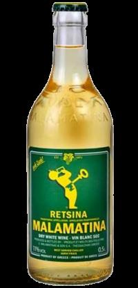 Malamatina Retsina Wine 500ml