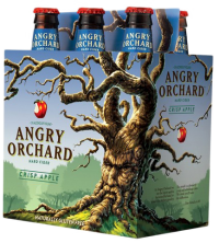 ANGRY ORCHARD CRISP APPLE CIDER 12OZ 6PK NR-Beer