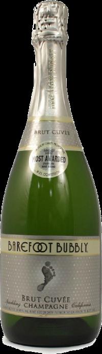 BAREFOOT BUBBLY BRUT CUVEE 750ML Wine SPARKLING WINE