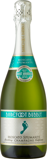 BAREFOOT BUBBLY MOSCATO SPUMANTE 750ML Wine SPARKLING WINE