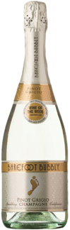 BAREFOOT BUBBLY PINOT GRIGIO 750ML Wine SPARKLING WINE