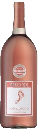 BAREFOOT PINK MOSCATO 1.5L Wine WHITE WINE