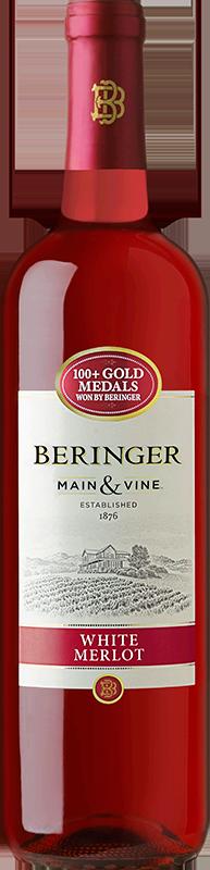 BERINGER MAIN&VINE WHITE MERLOT