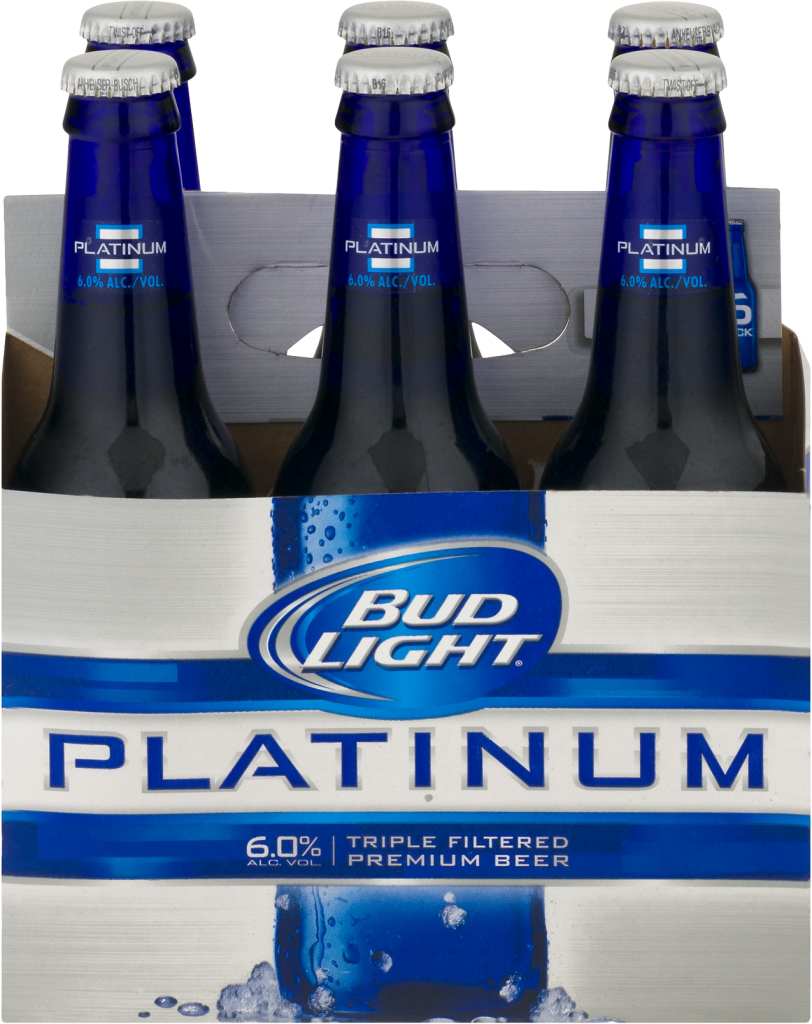 Bud Light Platinum 12oz 6pk Bt Luekens Wine Amp Spirits