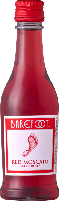 Barefoot Red Moscato 187ml 4pk