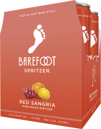 Barefoot Red Sangria 187ml 4pk