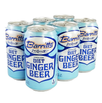 Barritts Diet Ginger Beer 6 Pack