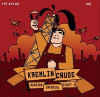 Beer Here Kremlin Crude Stout