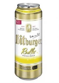 Bitburger Radler 16oz