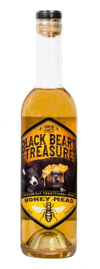 Black Bears Treasure Honey Mead 375ml