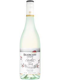 Brancott Estate Wine New Zealand Flight Song Marlborough Pinot Grigio 750mL Bottle