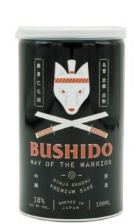 Bushido Way of the Warrior Sake 180ml