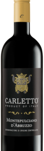 CARLETTO MONTEPULCIANO 750ML Wine RED WINE