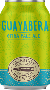 CIGAR CITY GUAYABERA CITRA PALE 6PK CN-12OZ-Beer