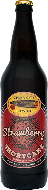 CIGAR CITY STRAWBERRY SHORTCAKE 22OZ NR-22OZ-Beer