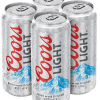COORS LIGHT 16OZ 4PK CN-16OZ-Beer