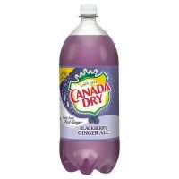 Canada Dry Blackberry Ginger Ale 2L