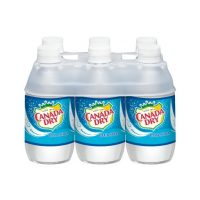 Canada Dry Club Soda 10oz 6pk-bt