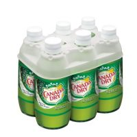 Canada Dry Ginger Ale 10oz 6pk bt