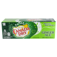 Canada Dry Ginger Ale 12oz oz 12pk