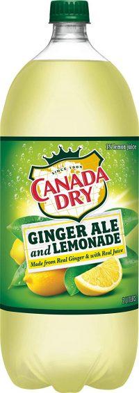 Canada Dry Lemonade Ginger Ale 2L