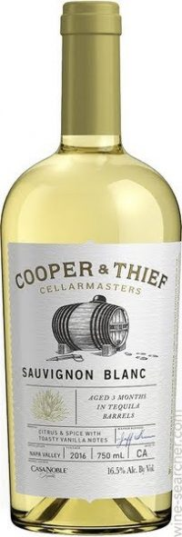 Cooper & Thief Sauvignon Blanc Tequila Aged