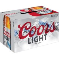 Coors Light 12oz 24pk bt