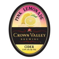 Crown Valley Pink Lemonade Cider 6pk