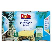 Dole Pineapple Juice 6pk